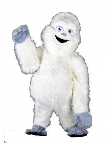 Yeti Mascot Costume 1 (plush stuffed figures)