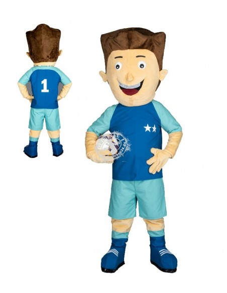 270a Soccer player Costume Mascot buy cheap
