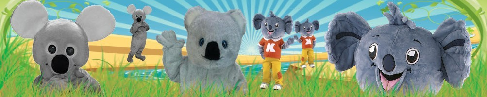 Koala Costumes Mascot ✅ Running figures advertising figures ✅ Promotion costume shop ✅