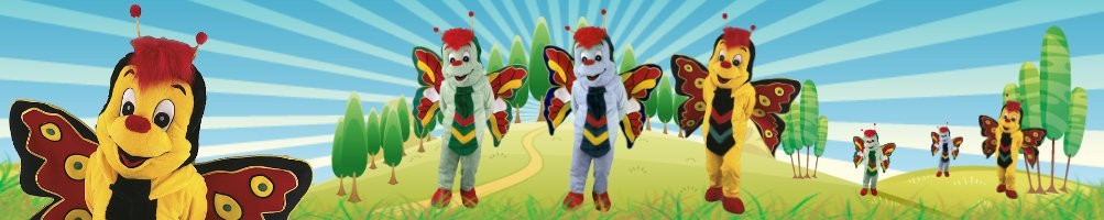 Butterfly costumes mascots ✅ running figures advertising figures ✅ promotion costume shop ✅