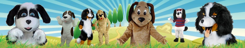 Dog costumes mascots ✅ running figures advertising figures ✅ promotion costume shop ✅