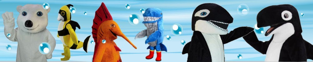 Sea & Polar mascot costumes ✅ Promotion advertising character ✅ Buy cheap costume shop ✅