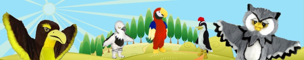 Costumes birds & beaks mascots ✅ Promotion advertising character ✅ Buy cheap costume shop ✅