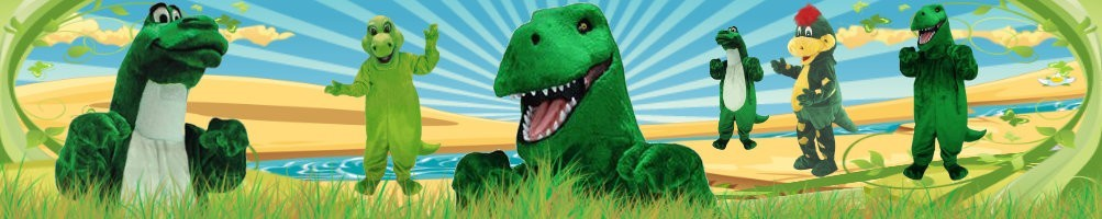 Dinosaur costumes mascot ✅ Running figures advertising figures ✅ Promotion costume shop ✅